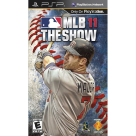 MLB 11 The Show (psp used game)