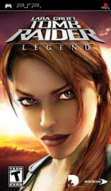 Tomb Raider Legend (psp used game)