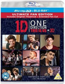 1D One Direction This is Us ultimate fan edition (Blu-ray tweedehands film)