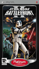 Star Wars Battlefront II platinum (psp tweedehands game)
