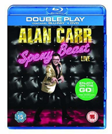 Alan Carr Spexy Beast Live Blu-ray DVD (Blu-ray tweedehands film)