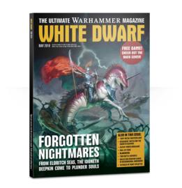 White Dwarf Mei 2018 Magazine  (Warhammer Nieuw)