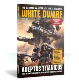 White Dwarf Augustus 2018 Magazine  (Warhammer Nieuw)