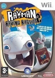 Rayman Raving Rabbids 2 (Wii Used Game)