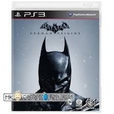 Batman Arkham Origins  licht beschadigde cover (ps3 used game)
