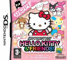 Happy Party with Hello Kitty and Friends (Nintendo DS nieuw)