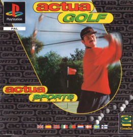 Actua Golf (PS1 tweedehands game)