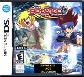Beyblade: Metal Fusion zonder boekje (Nintendo DS used game)