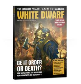 White Dwarf Juli 2018 Magazine  (Warhammer Nieuw)