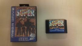 Super Street Fighter II zonder boekje (Sega Mega Drive tweedehands game)