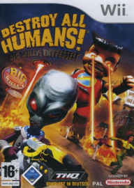 Destroy all Humans! Big Willy Unleashed (wii used game)