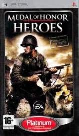 Medal of Honor Heroes platinum (psp used game)