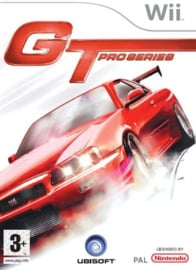 GT Pro Series slechte cover (Nintendo Wii used game)