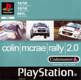 Colin Mc Rae Rally 2.0 (PS1 tweedehands game)