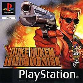 Duke Nukem Time to Kill (PS1 tweedehands game)