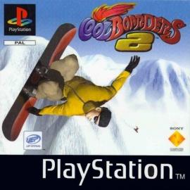 Cool Boarders 2 zonder cover en beschadigd boekje (PS1 tweedehands game)