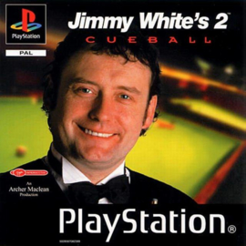 Jimmy White's 2 Cueball (ps1 tweedehands game)