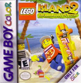 Lego Eiland 2 losse cassette (duits) (Gameboy Color tweedehands game)
