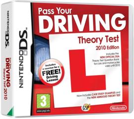 Pass your driving theory test 2010  zonder boekje (Nintendo DS tweedehands game) (Engels)