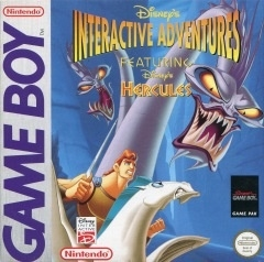 Disney's Interactive Adventures  Hercules losse cassette (Gameboy tweedehands game)