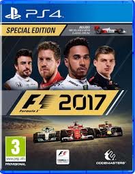 F1 2017 zonder boekje (ps4 tweedehands game)