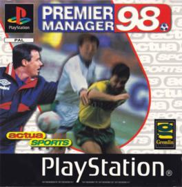 Premier Manager 98 (PS1 tweedehands game)