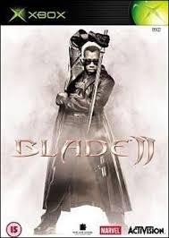 Blade II zonder boekje (xbox tweedehands game)