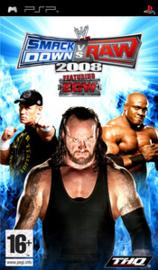 Smackdown vs Raw 2008 (psp used game)