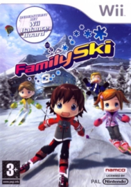 Family Ski Game Only zonder boekje (wii used game)