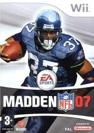 Madden 07 (wii used game)