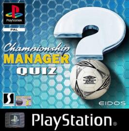 Championship Manager Quiz  (PS1 tweedehands game)
