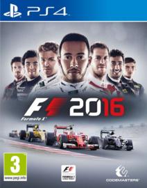 F1 2016 zonder boekje (PS4 tweedehands game)