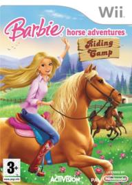 Barbie Horse Adventures Riding Camp (Nintendo wii tweedehands game)