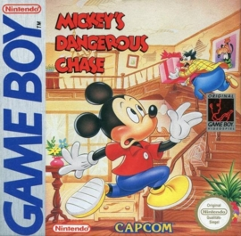 Mickey's Dangerous Chase losse cassette (Gameboy tweedehands game)