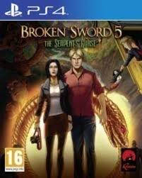 Broken Sword 5 The serpent's Curse *game only* (ps4 nieuw)