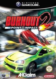 Burnout 2 Point of Impact zonder boekje (Gamecube tweedehands  game)