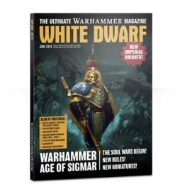 White Dwarf Juni 2018 Magazine  (Warhammer Nieuw)