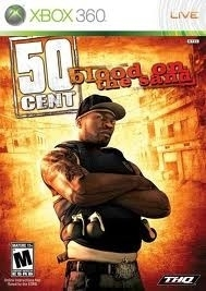 50 cent Blood on the Sand (Xbox 360 used game)