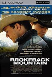 Brokeback Mountain (psp tweedehands film)