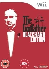 The Godfather blackhand edition (wii used game)