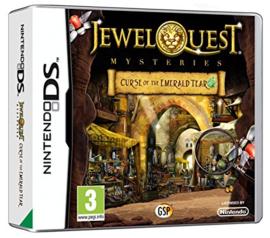 Jewel Quest mysteries Curse of the Emerald Tear (Nintendo DS Nieuw)