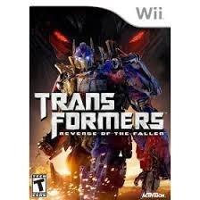 Transformers Revenge of the Fallen (Nintendo Wii tweedehands game)
