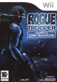 Rogue Trooper Quarts Zone Massacre zonder boekje (wii tweedehands game)
