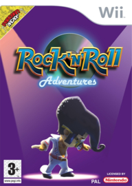Rock n Roll Adventures zonder boekje  (Nintendo Wii tweedehands game)