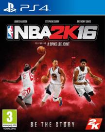 NBA 2k16 zonder boekje (ps4 tweedehands game)