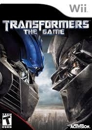Transformers (wii used game)