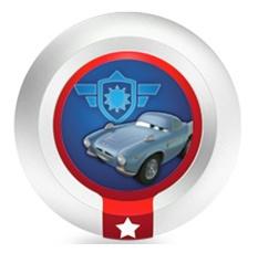 Disney Infinity 1.0 Power disks C.H.R.O.M.E.-pantserschild (Disney infinity tweedehands)