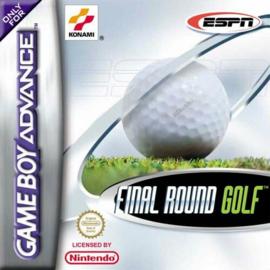 Final Round Golf (Gameboy Advance tweedehands game)