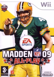 Madden NFL 09 (Wii used game)