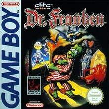 Dr. Franken losse cassette (Gameboy tweedehands game)